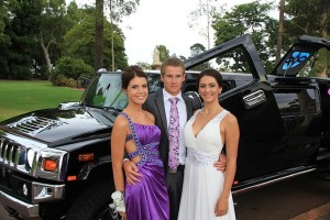 Black Hummer Hire Perth - School Ball. Kings Park Perth City photo stopover before arriving at the Hyatt Hotel for the School Ball Perth
