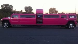 Perth Pink Hummer BirthdayParty Limo