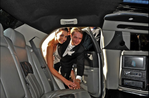 Silver Wedding Limo Perth