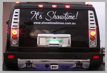 Black Hummer Hire Perth Boot. This is not a seating compartment, you will not be in the cleaning section with your back against the back glass window in a Showtime Limo Black hummer hire Perth