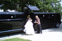 Centre Jet or Bridal Door Black Perth Limo Hire - H210 Hummer Stretch limo by SHowtime Limousines Perth