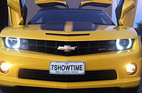 Bumblebee Camaro Limousine by Showtime Limousines Perth