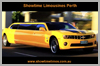Wedding Limo Perth image 4  New Shape 2013 White Chrysler Limousine by Showtime Limousines Perth