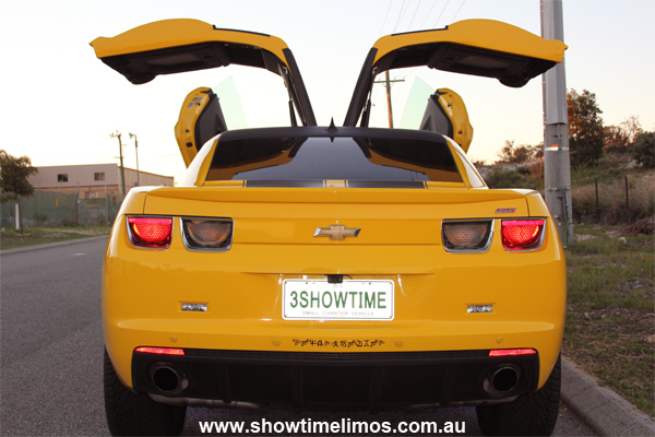 Hire Bumblebee Transformers Car