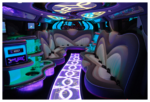 Hummer Luxury Interior for Perth Stretch Limousine Hire - Showtime Perths Best Limousines