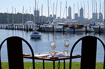 Limousine service Perth to or from your chosen Restaurant. Matilda Bay Restaurant WA Perth by Showtime Limousines . Perth limousine service transfers in the city can be in Chrysler limos, Hummer Limos or the Camaro Bumblebee Transformers limo