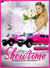 Perth Hummer wedding cars Perth - Diva Pink Hummer Limousine Perth
