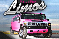 Pink Hummer Limo Hire Perth by SHowtime Limos School Ball Limos -  16 Seater Party Limo